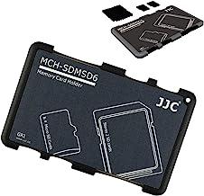 JJC Speicherkarten Etui Leichte Aufbewahrung Schutzhüllen für 2 SDXC SDHC SD Karten und 4 Micro SD Karten