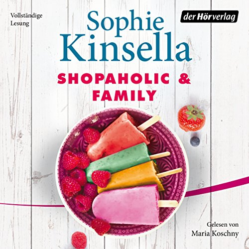 Shopaholic & Family audiobook cover art