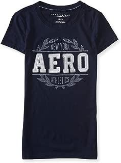 Aeropostale Womens New York Athletics Embellished T-Shirt
