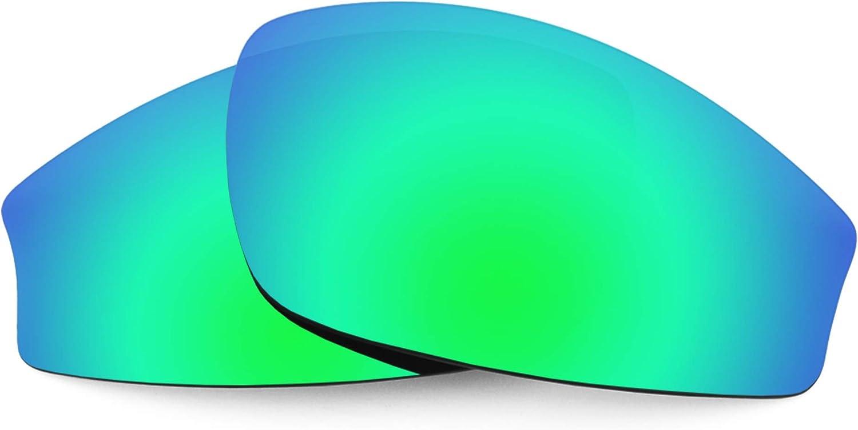 Revant Verres de Rechange pour Wiley X Jake - Compatibles avec les Lunettes de Soleil Wiley X Jake Vert Émeraude Mirrorshield - Polarisés