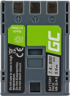 Green Cell NB-2L NB-2LH Batería para Canon EOS 350D 400D PowerShot G7 G9 S30 S40 S45 S50 S60 S70 S80 Digital Rebel XT XTI HV20 HV40 VIXIA HF R10 Cámara Full Decoded (700mAh 7.4V)