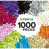 クラシックビルディングブロックおもちゃ| 1000クリエイティブパーツ| 10色| 14種類の仕様| 6歳以上の男の子と女の子に最適 性能価格比|主要な国際ブランドとの互換性|知育玩具