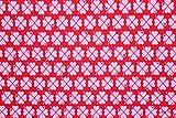 Jersey Klee byGraziela rot/rosa | 1,55 Meter breit | wird