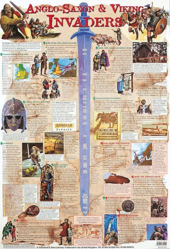 Anglo-Saxon and Viking Invaders (Laminated posters)