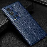 VIVO X60 Pro + Plus Color : Leather Blue Case Cover Type : Leather Textured Back Cover Case Mobile Phone with Anti Shock Corners is thin as well as Impact and Shock Resistant. Raised Lips to Protect the Screen and Camera Bump. Inside Web Pattern, Pro...