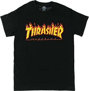 Flame Black Small T-Shirt