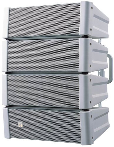 TOA HX-5 - 600 Watt Variable Dispersion Line Array Loudspeaker (White)
