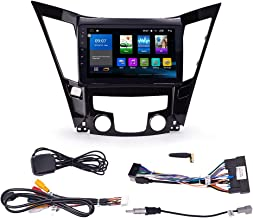 KUNFINE Quad Core Android 8.0 Car DVD GPS Navigation Autoradio Car Stereo Multimedia Player Car Radio for Hyundai Sonata 2011 2012 2013 2.0L Headunit Supports Steering Wheel Control