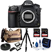 Nikon D850 Full Frame DSLR Camera Body Bundle with 64GB Extreme Pro Cards and Accessory Bundle (7 Items)