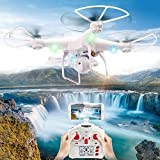 OOFAY Drone with Camera Air Pressure Set High Wifi Real-Time...