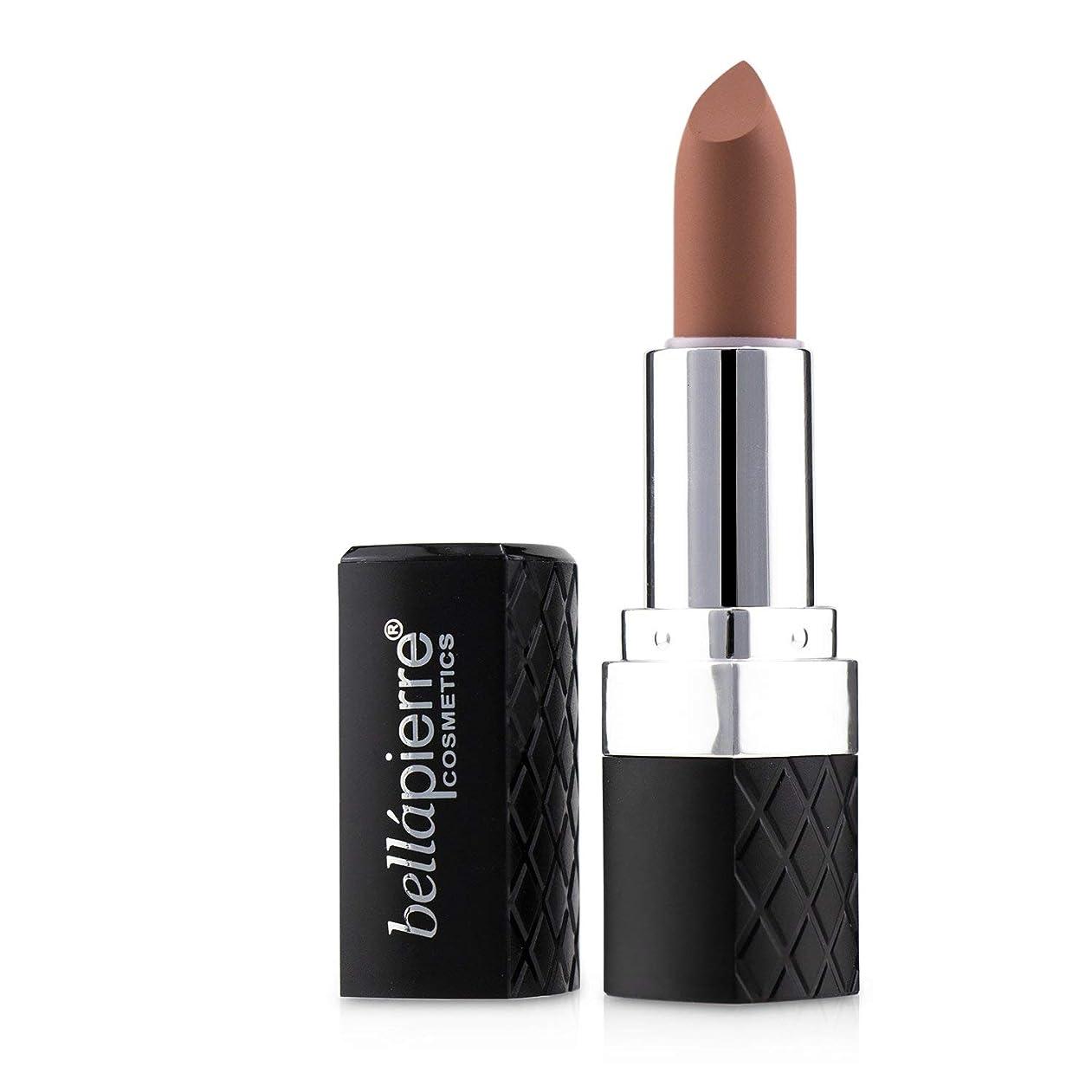 首謀者同一性写真のBellapierre Cosmetics Matte Lipstick - # Incognito (Caramel Nude) 3.5g/0.123oz並行輸入品