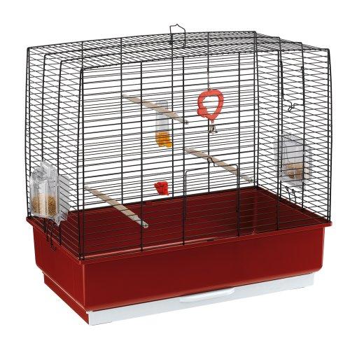 Ferplast Rekord 4 Bird Cage, 60 x 32.5 x 57.5 cm, Black