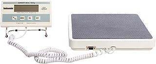 """مقیاس دیجیتال Health O Meter 349KLX ، صفحه نمایش از راه دور ، ظرفیت 400 پوند ، وضوح 0.2 پوند ، 12-1 / 2 """"x 12"""" x 1-7 / 8 """""""