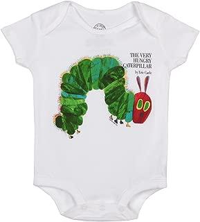 The Very Hungry Caterpillar Baby Romper-White