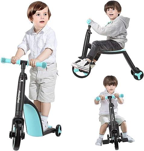 Lernspielzeug Roller, Roller-Dreirad der Kinder k en auf dem S lingsbaby-Dia-Roller-Multifunktions-3 in 1 Sätzen 05.22 (Farbe   Blau)