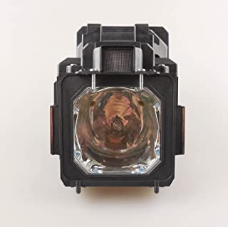 Kingoo Excellent Projector Lamp for Eiki LC-SXG400 LC-SXG400L LC-XG400 LC-XG400L fit SANYO PLC-ET30L PLC-XT30 PLC-XT35 PLC-XT35L Replacement Projector Lamp Bulb with Housing