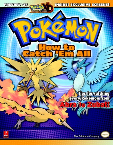Pokemon: How To Catch 'Em All (Prima Official Game Guide)