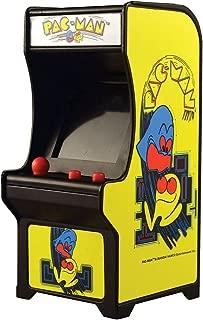 Super Impulse Pac-Man Classic Tiny Arcade Game - Palm Size W/ Authentic Sounds & Joystick, Yellow