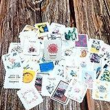 Mdsfe 42PCS Summer Summer Paper Stickers Decoración DIY Ablum Diary Scrapbooking Sticker Girls Boys Students Niños Niños Stickers de Regalo - a1,1 Set (42pcs)