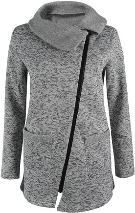 VITryst Women Colorblock Casual Weekend Hoode Windbreaker Fleece Jacket
