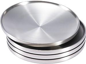 Sumerflos 304 Stainless Steel Dinner Plate, 9