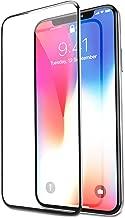 Bovon - Protector Pantalla para iPhone XS / X, Cristal Templado, Anti-Golpe, sin Burbujas, Compatible con 3D Touch, 9H Dureza, Alta Definicion, Transparente
