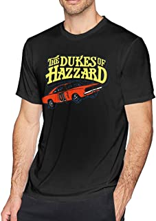 Huaichuanhua Mans Dukes of Hazzard General Lee Personalized Tee Shirt