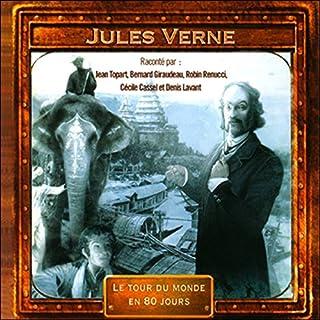 Le tour du monde en 80 jours                   Auteur(s):                                                                                                                                 Jules Verne                               Narrateur(s):                                                                                                                                 Jean Topart,                                                                                        Bernard Giraudeau,                                                                                        Robin Renucci,                   Autres                 Durée: 1 h et 18 min     Pas de évaluations     Au global 0,0
