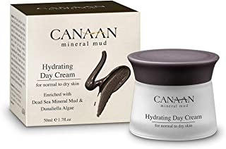 Canaan Minerals & Herbs Dead Sea Day Cream - Mineral Mud Hydrating Day Cream, Skin Mud, 1.7 fl. oz, Natural Hydrating Face Moisturizer