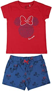 Cerdá - Minnie Mouse | Pijama Minnie Mouse Niña - 100% Algodón - Juego de pijama Niñas