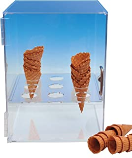 Best waffle cone storage Reviews