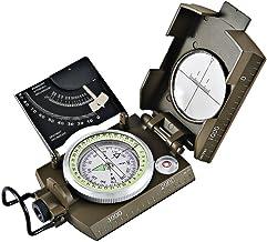 BIlinli Alt/ímetro Profesional de Aluminio Profesional Clin/ómetro de Mano Compacto para medir Alturas Pendientes /Ángulos Plata