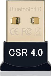 【Newiy Start】Bluetooth4.0 USBアダプタ EDR/LE(省エネ) Windows10 apt-X対応 CSRスタック付属 ブルートゥース ドングル (超小型)