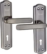 Atom 606 K.Y Door Handle Set Brass Antique Finish With LEZEND Double Stage Lock 3 Keys