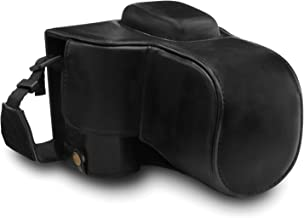 MegaGear Nikon D3500 Ever Ready Leather Camera Case and Strap