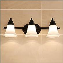 Spiegel voorlamp, E27 lichtbron American Retro badkamer wandlamp badkamer wastafel lamp spiegel voorlamp
