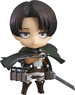 Good Smile Attack On Titan Levi Nendoroid Action Figure