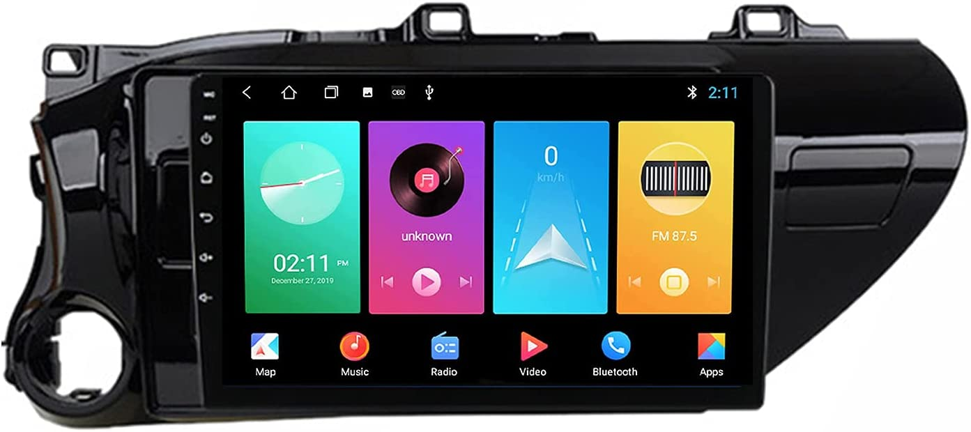 Nlne Double Din Android Car Stereo Navigation GPS U in-Dash Head Sale Today's only item