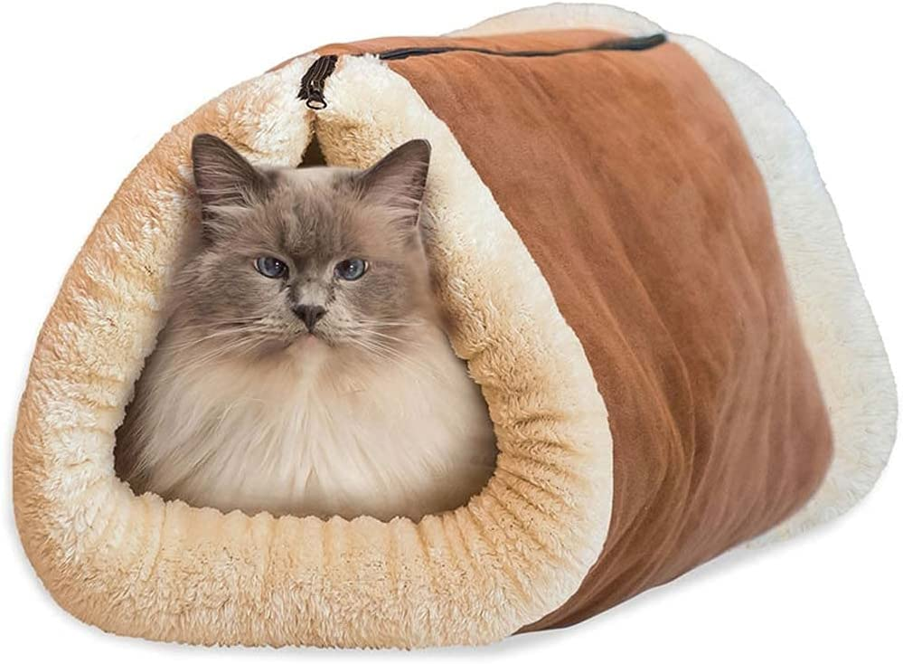 Popular popular Spring new work JNXY 2 in 1 Tube Cat Accessories and Mat Bed Pet