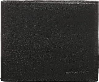 Laveri Clip Bifold Wallet for Men - Leather, Black