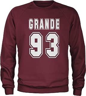 Expression Tees Grande 93 Birth Year Crewneck Sweatshirt