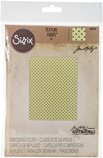 Sizzix, Multi Color, Embossing Folder 661612, Tiny Dots by Tim Holtz, One Size
