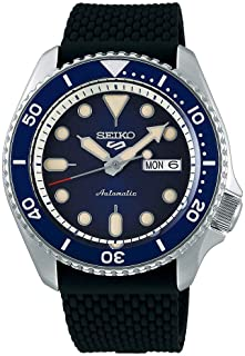 SRPD93 5 Sports 24 - Jewel Automatic Watch - Blue/Black - Nylon