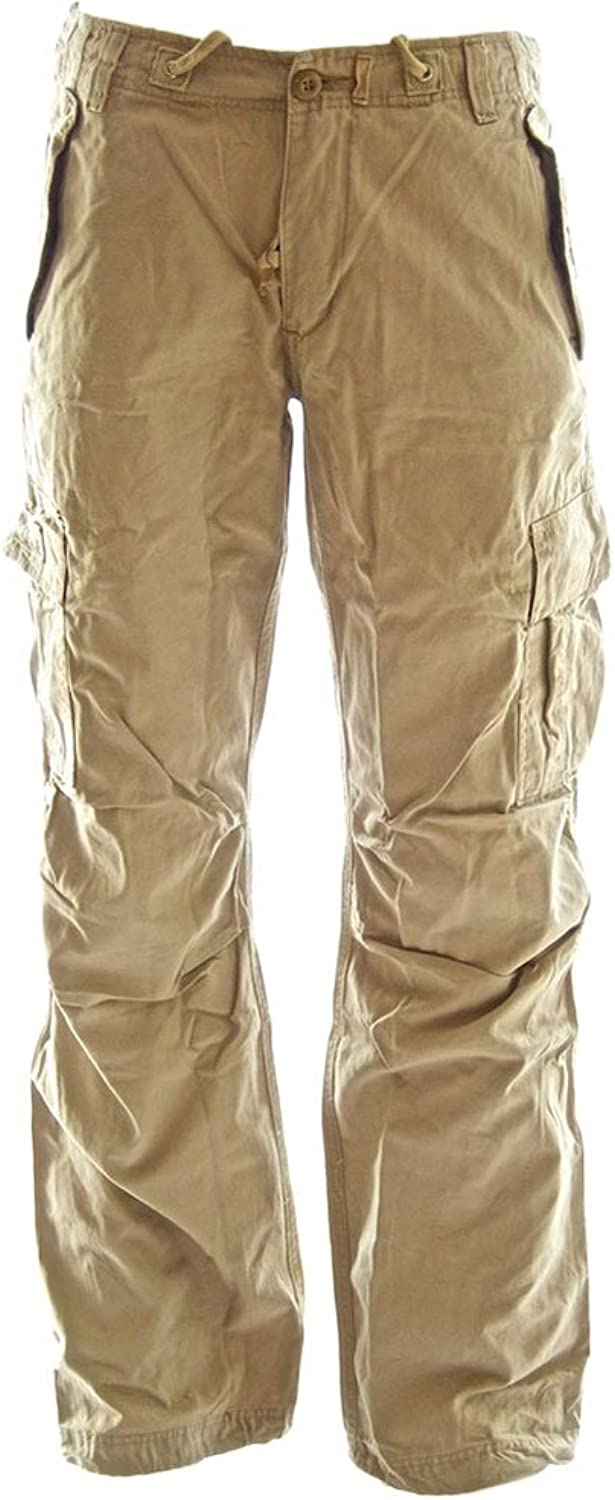 Molecule RopeBelted Backpackers Cargo Pants 45038100% Cotton Tough Durable Ladies Combats