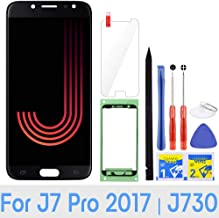 iFixmate LCD Screen Replacement for Samsung Galaxy J7 Pro (Black) with Touch Digitizer Display Assembly for J730 2017 J730G J730F SM-J730F/DS J730FM/DSM J730G/DS J730GM/DS (Black)