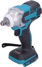 Chave de impacto elétrica sem fio sem escova Conjunto de chave elétrica portátil recarregável, ferramenta elétrica multifu...