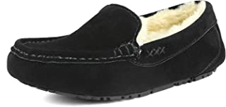 DREAM PAIRS Women's Auzy Winter Moccasins Slippers
