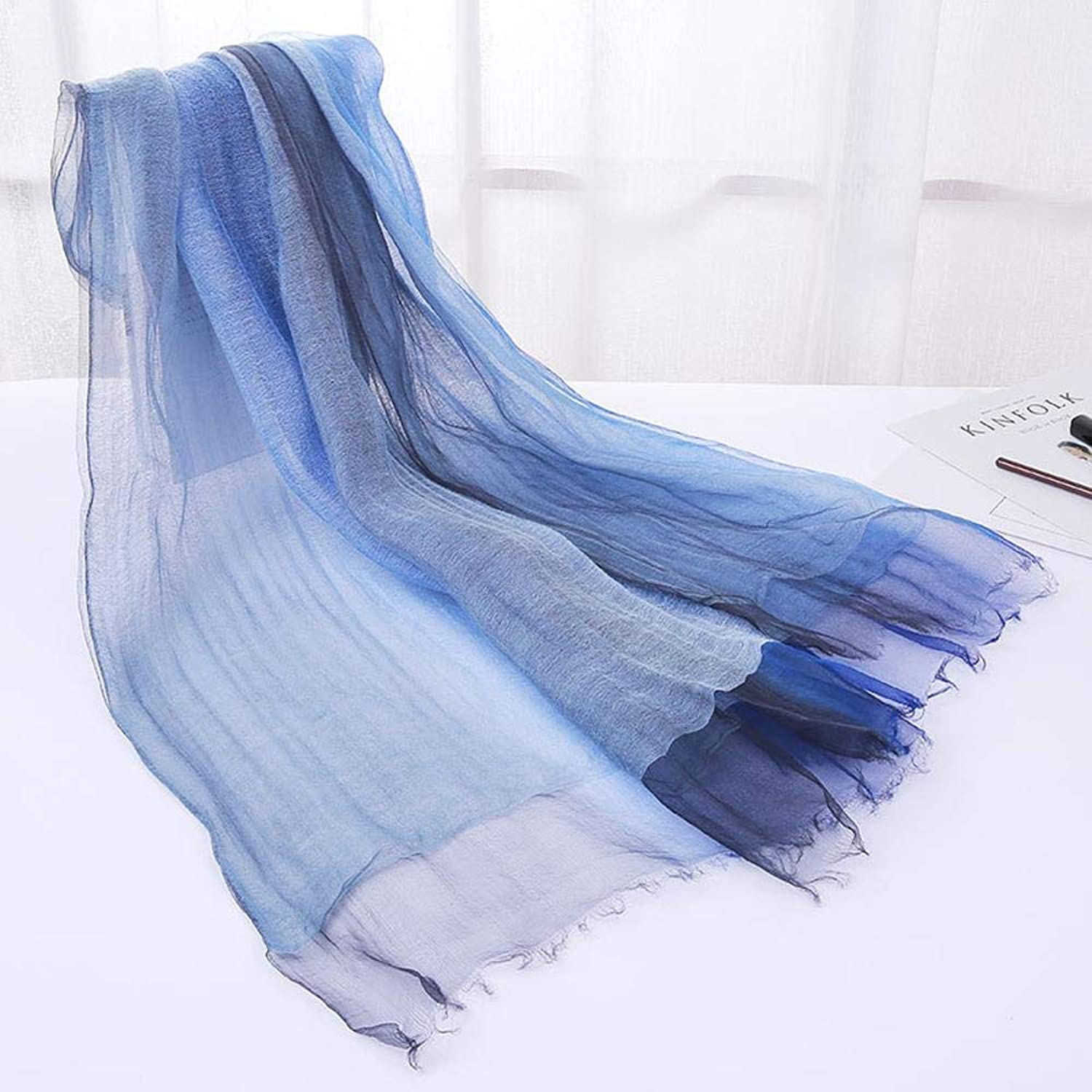 Paioup Ladies silk shawl silk scarf send friends and family birthday gift Perfectly expresses unique temperament