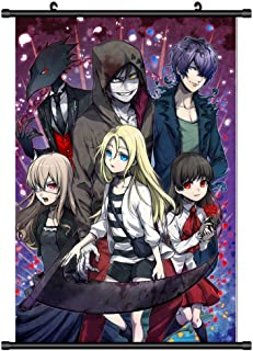 Opopark Anime Angels of Death Poster Anime Manga Wall Scroll Poster(H07)