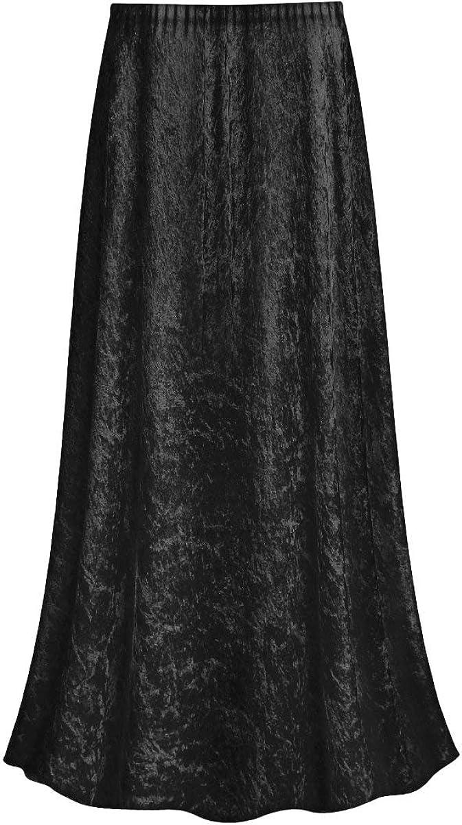 Sanctuarie Designs Max 49% OFF Women's Sale SALE% OFF Black Velvet Size Skirt Plus